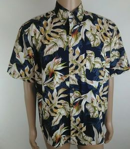 Natural issue Hawaiian Button up shirt size L